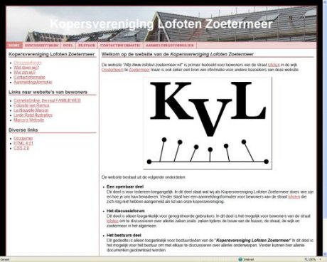 Kopersvereniging Lofoten Zoetermeer