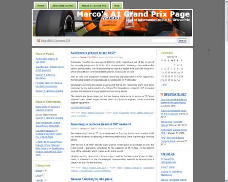 Marco's A1 Grand Prix Page