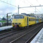 De Sprinter op station Zoetermeer (Markv)