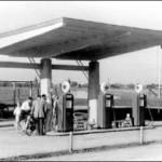 Het benzinestation aan de A12 (Historisch Genootschap Oud Soetermeer)