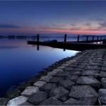 De Zoetermeerseplas bij zonsondergang (Raym's Fotosite)