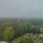 Uitzicht over Walibi World (1)