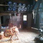 Het interieur van een oude boerderij (1)