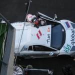 De Lamborghini Murcielago R-GT van IPB Spartak Racing