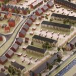 Een maquette van Oosterheem