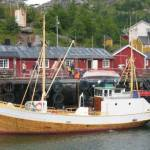 Het vissersdorpje Nusfjord