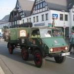 De wagen van Privatbrauerei Bosch