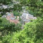 Uitzicht op Heimbach
