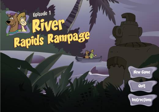 Scooby Doo; Episode 1 - River Rapids Rampage