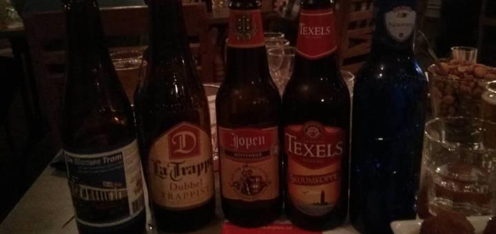 Vijf Bieren