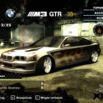 BMW M3 GTR Race - Need For Speed Most Wanter - Fire Fire