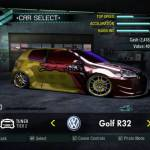 Volkswagen Golf R32 - Need For Speed Carbon - Pharrell