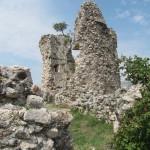 De overblijfselen van Vecko Kula in Starigrad Paklenica