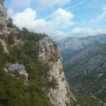 De grot in de grote Paklenica