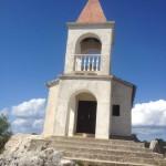 Mooi kerkje op het eiland Pasman