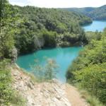 Een mooi uitzicht in het National Park Plitvice