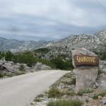 Uitzicht op het dorpje Ljubotic
