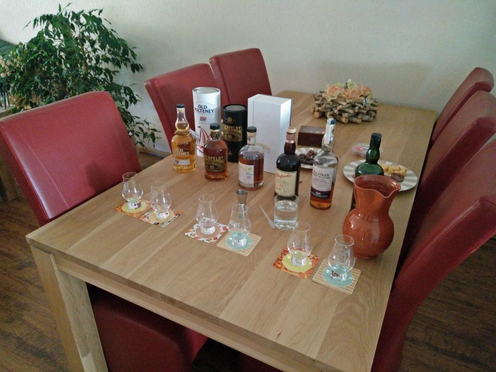 Whisky Proeverij