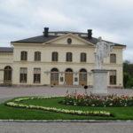 Bij het Drottningholm Palace staat ook nog dit zeer fraaie en oude theater.