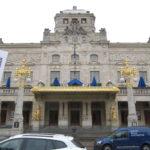 In Stockholm staat dit theater met gouden randje.