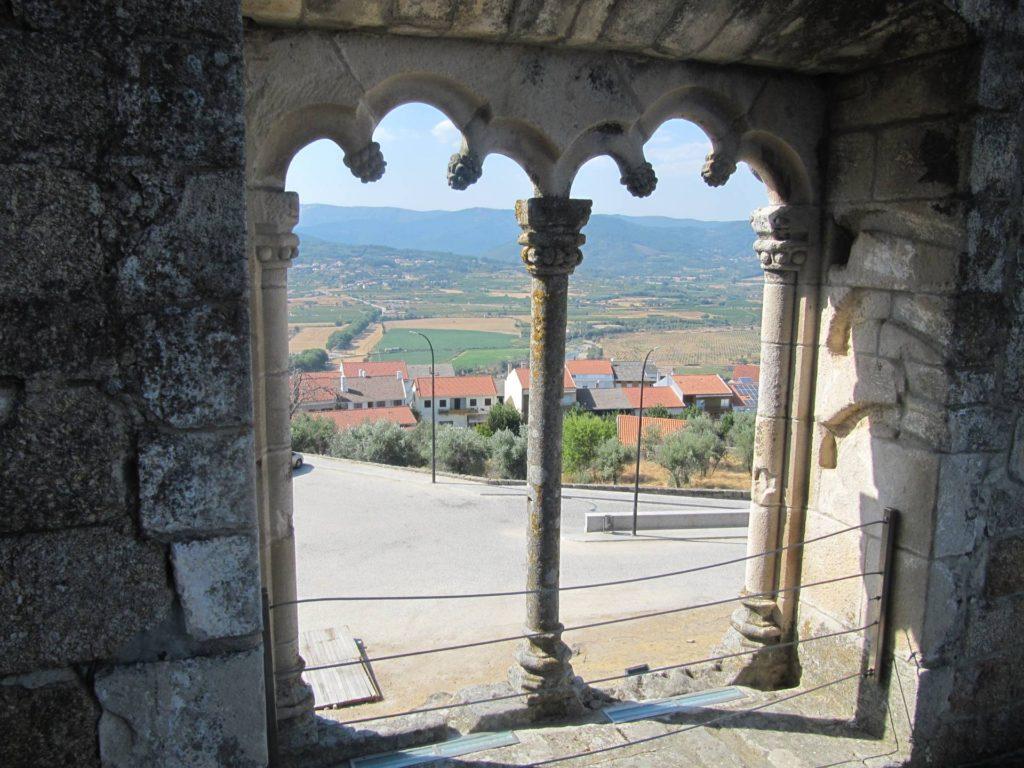 Uitzicht vanaf Castelo Medieval e Paco dos Cabrais in Belmonte.
