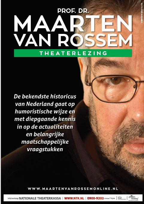 Maarten van Rossem - Theaterlezing