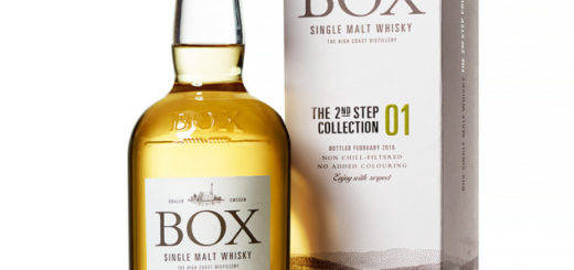 Box SIngle Malt Whisky The 2nd Step Collection
