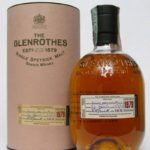 The Glenrothes Single Speyside Malt Scotch Whisky