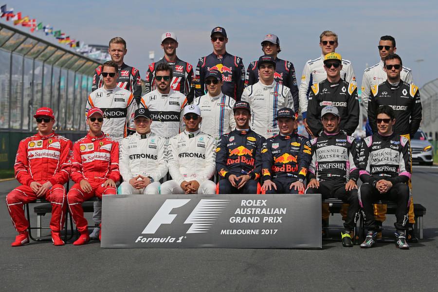 Formule 1; Seizoen 2017; Race 1
