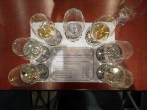 De zeven te proefen Whisky's
