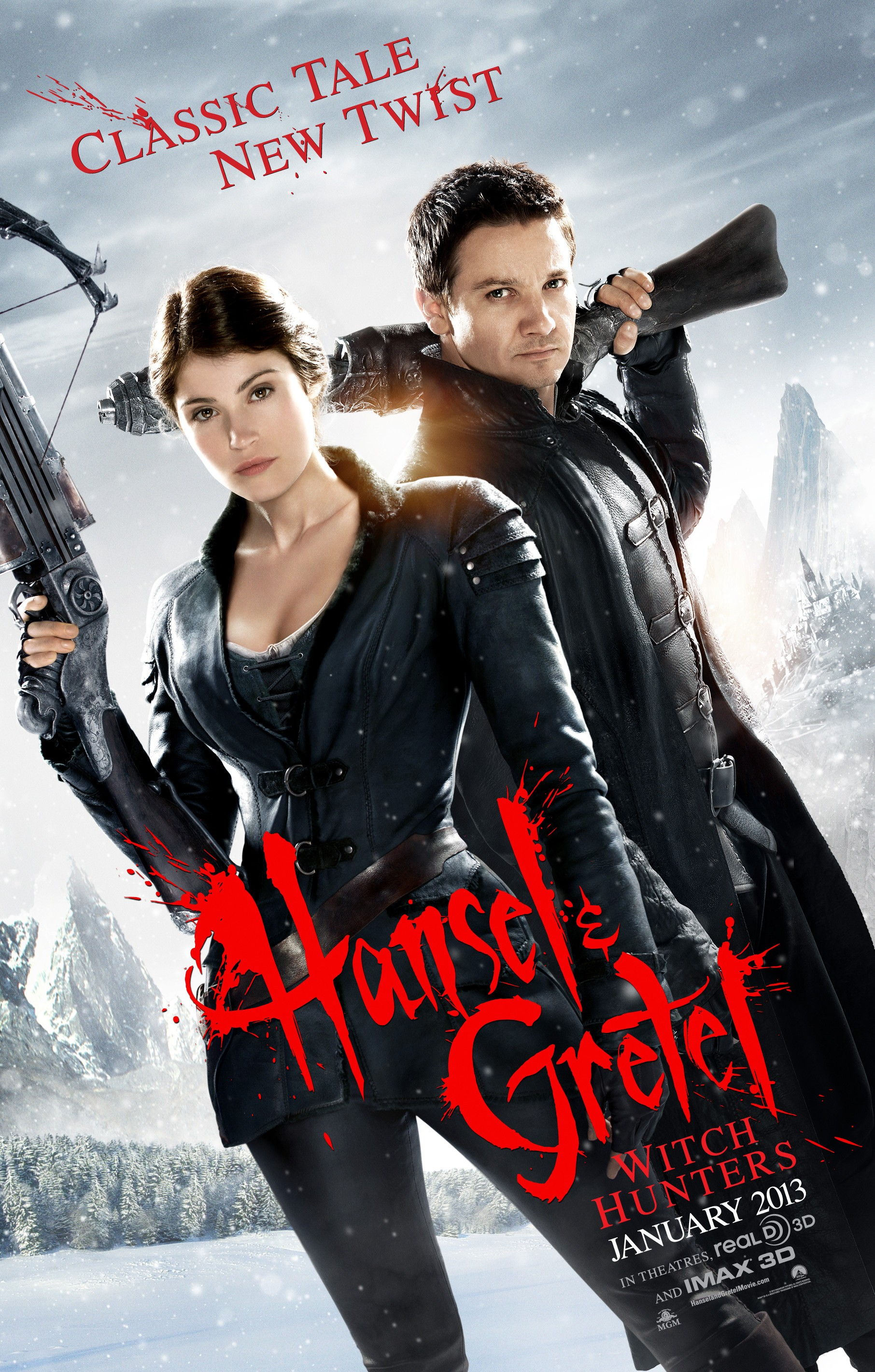 Film : Hansel and Gretel - Wtch Hunters (2013)