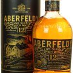 Aberfeldy Highland Single Malt Scotch Whisky Guaranteed 12 Years in Oak