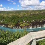 Waterval Hraunfossar