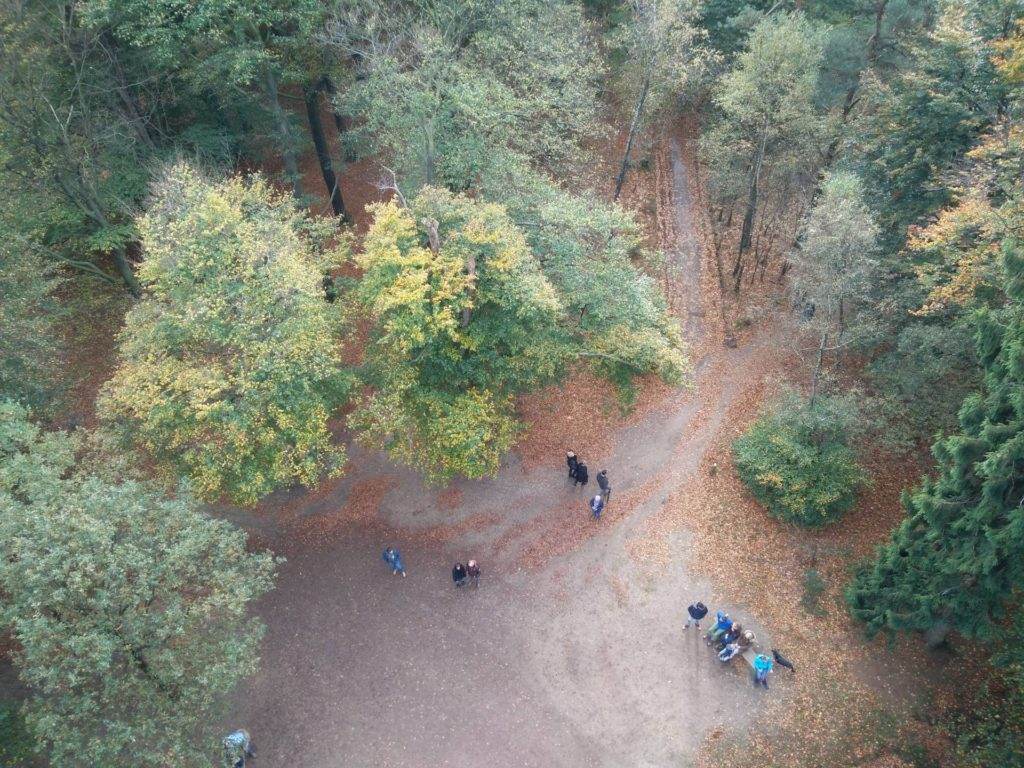 Dit is het uitzicht vanaf de uitzichttoren De Kaap