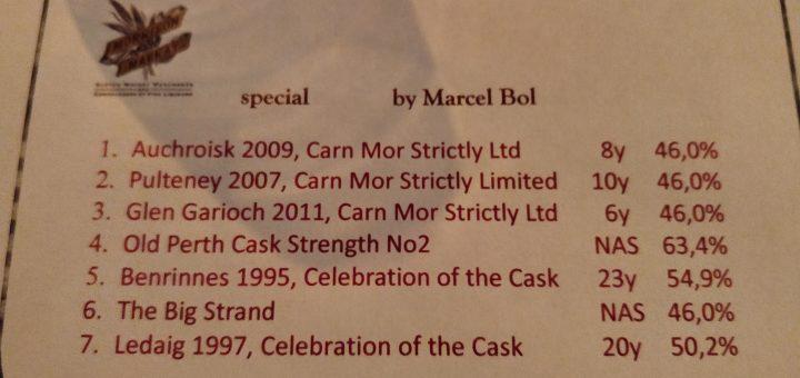 Whisky Tasting : Morrison & MacKay