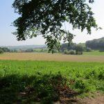 Ook dit uitzicht over velden en heuvels is niet slecht