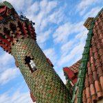 Bij El Capricho de Gaudi stond ook een hele fraaie toren.