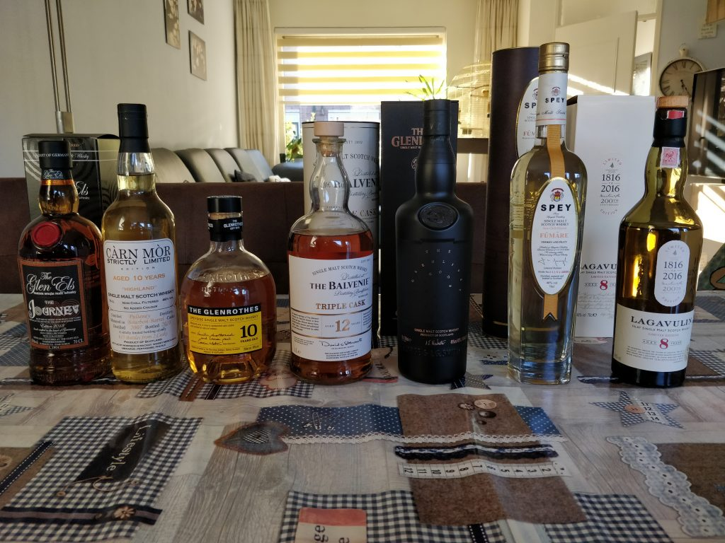 The Tasting Line-Up