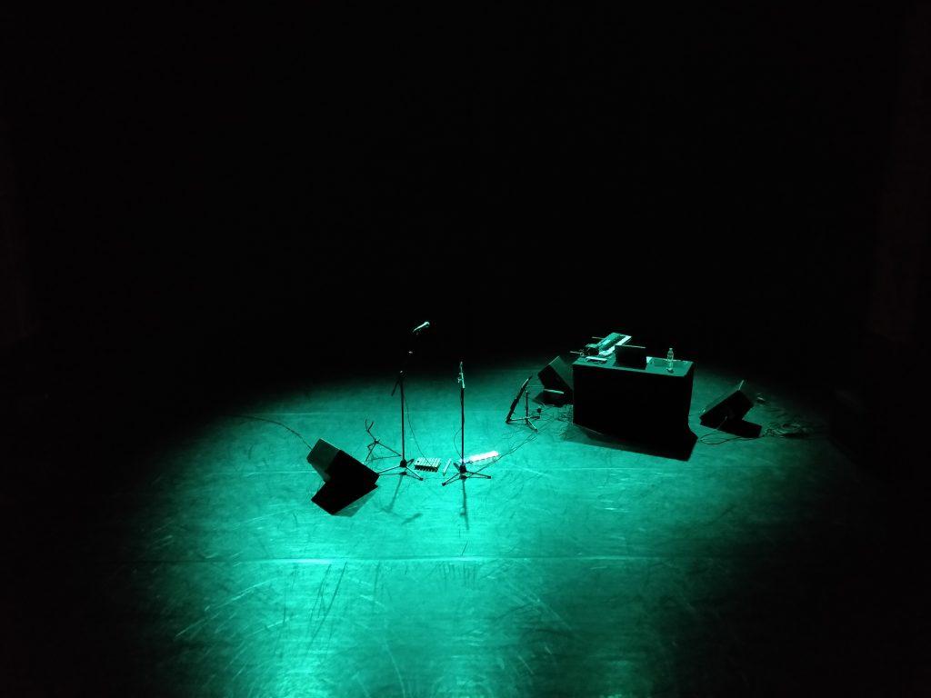 Het podium van het Korzo Theater