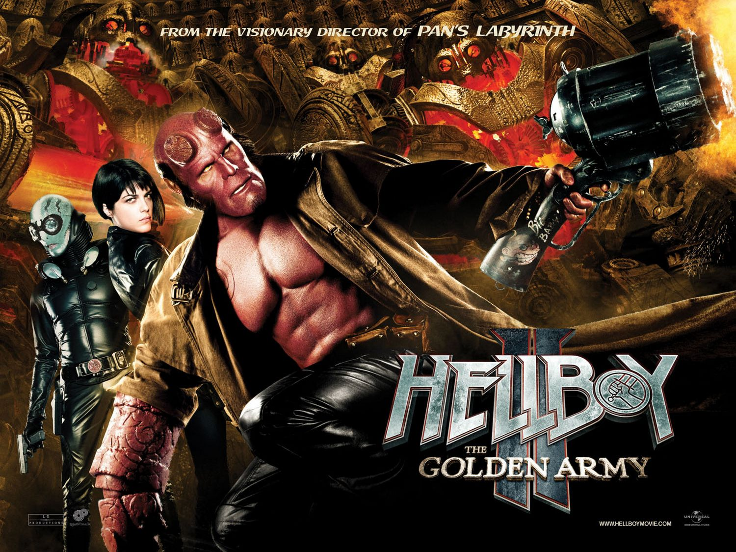 Film : Hellboy 2 - The Golden Army (2008)