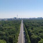 Uitzicht vanaf Berliner Siegessaule