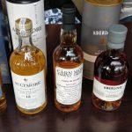 Kleine Whisky Proeverij - De Line-Up Deel 1