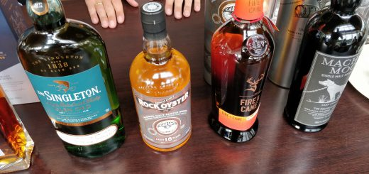 Kleine Whisky Proeverij - De Line-Up Deel 3