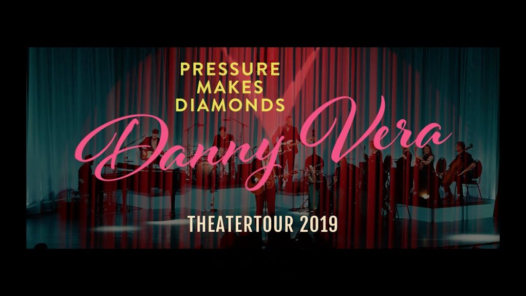 Danny Vera - Pressure Makes Diamons Theater 2019 (Publiciteit)