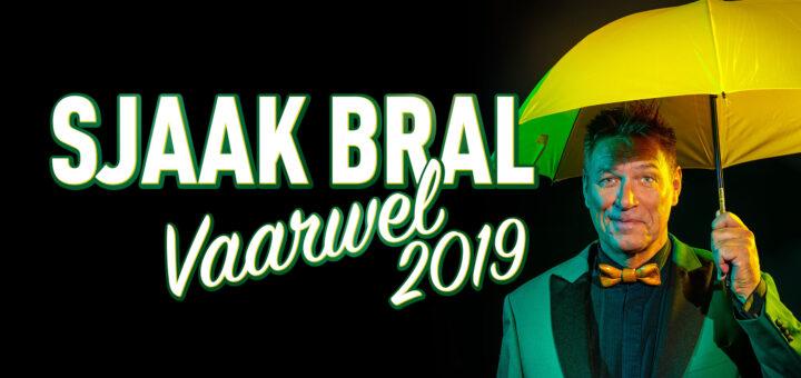 Cabaret : Sjaak Bral - Vaarwel 2019