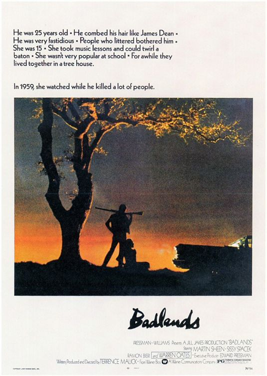 Film : Badlands (1973)