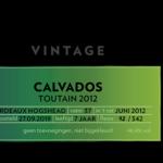 Beek Calvados Toutain 2012