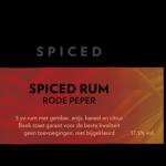 Beek Spiced Rum Rode Peper