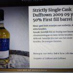 Càrn Mòr Strictly Single Cask Dufftown 2009 Bourbon Hogshead