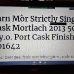 Càrn Mòr Strictly Single Cask Mortlach 2013 Port Cask Matured